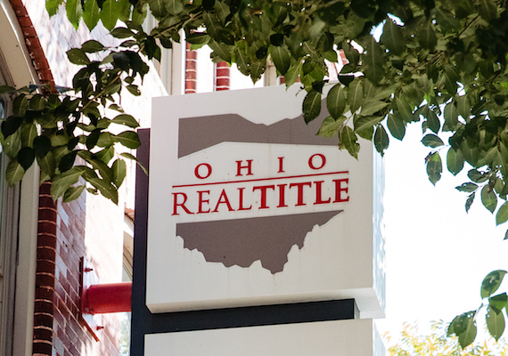 Ohio Real Title Sign