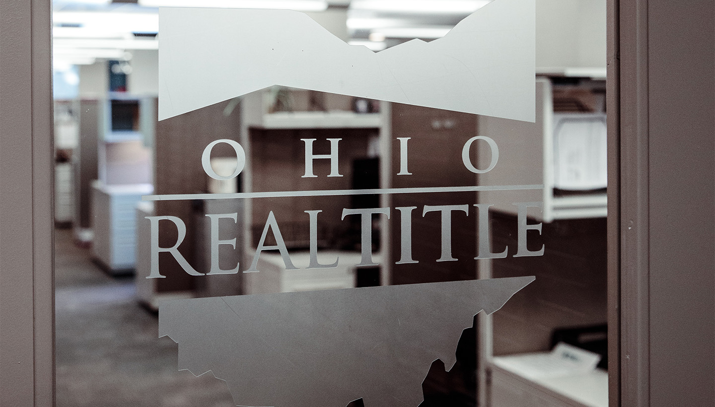 Ohio Real Title office - where they help with the closing on a new home.