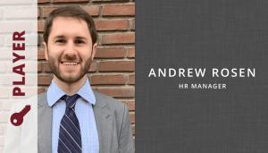 Andrew Rosen HR Manager