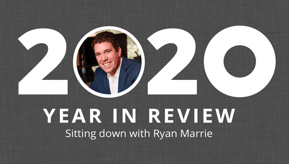 Ryan Marrie Year in Review graphic.