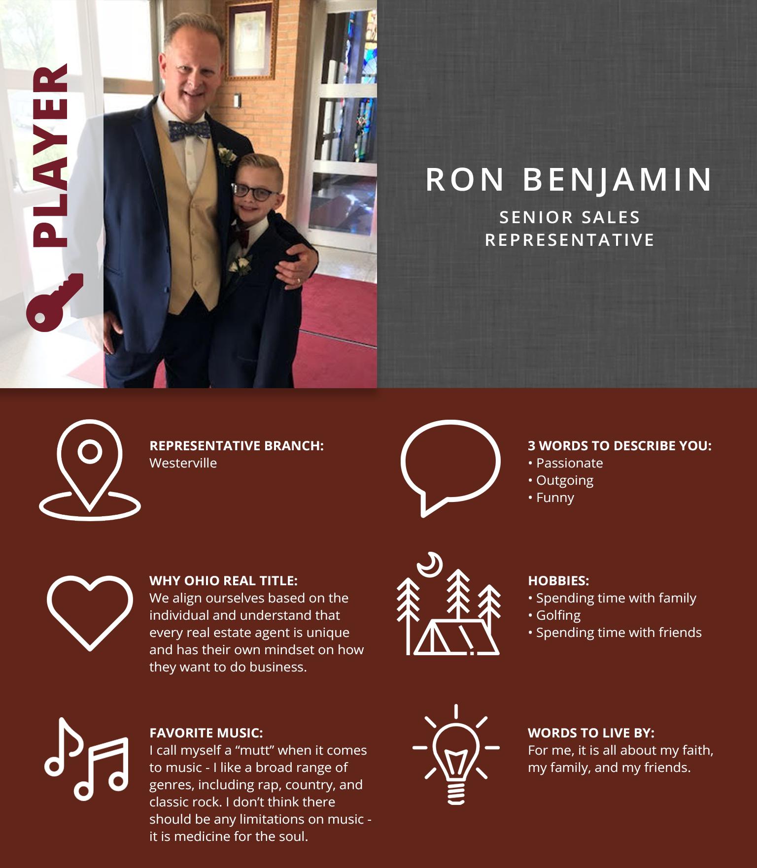 Ron Benjamin